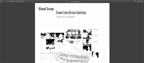 """vernacular architecture essay Frampton's 1983 essay """"towards a critical regionalism: six points for an   correspondence with vernacular architecture in a conscious way."""